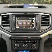 vw volkswagen amarok audio upgrade sat nav dab