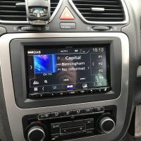 VW SCIROCCO GOLF PASSAT KENWOOD DMX-7017DABS DAB GPS BLUETOOTH