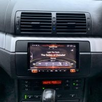 BMW E46 HEAD UNIT UPGRADE DOUBLE DIN ALPINE 702-E46